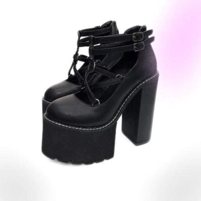 Wicca Platform Shoes