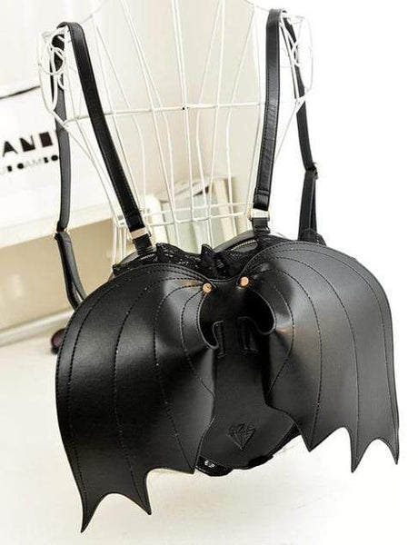Sinister Bat Wings Gothic Backpack