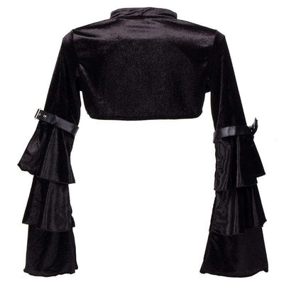 Gothic Butterfly Sleeve Jacket
