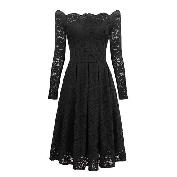 Mystery Lace Floral Dress