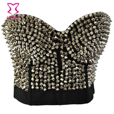 Sikk Studded Rivet Bra