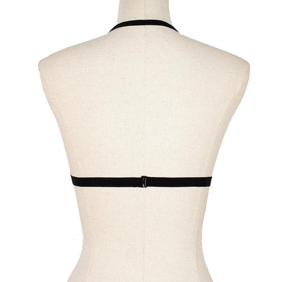 Elastic Hollow Out Harness