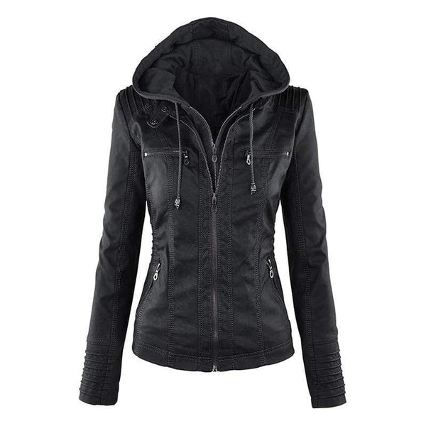 Sweet Inception Faux Leather Jacket