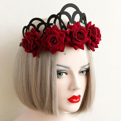 Gothic Crown of Roses