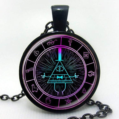 MYSTERY BILL CIPHER WHEEL Steampunk Pendant Necklace