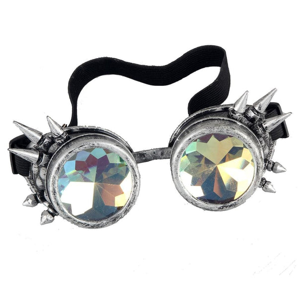 Steampunk Spiked Prism Goggles