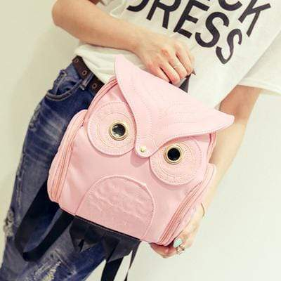 Body-Snatching Vintage Style Owl Gothic Backpack