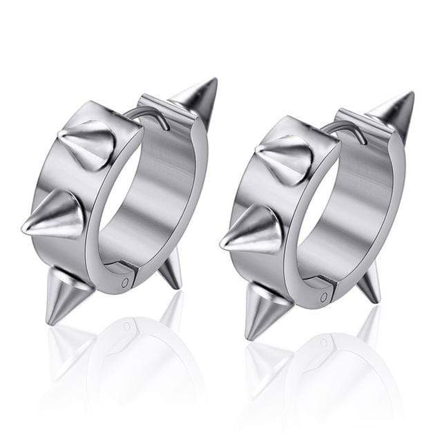 Revenant Rivet Spike Stud Earrings