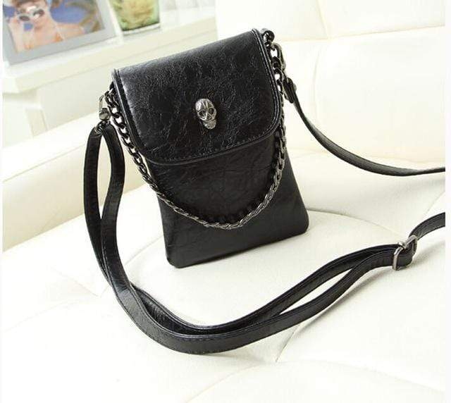 Skull Demon Cross-body Bag