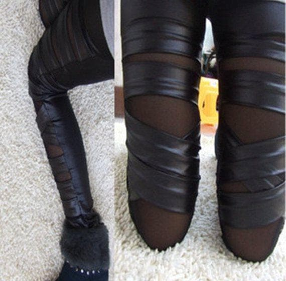 Conjoined Gothic Leggings