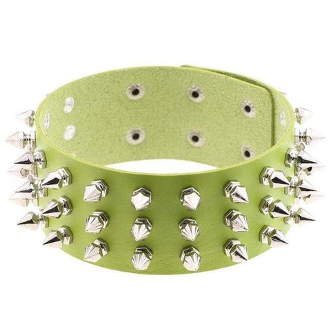 Studded Choker Gothic Necklace