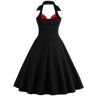Bloody Rockabilly Gothic Dress