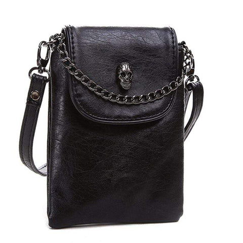 Skull Demon Cross-body Gothic Bag