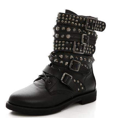 Punk Rock Revolution Gothic Boots