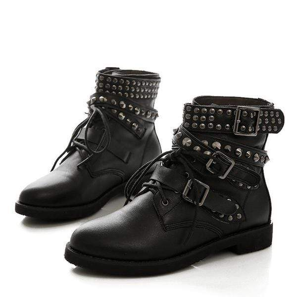 Punk Rock Revolution Boots Womens Transcending Trends