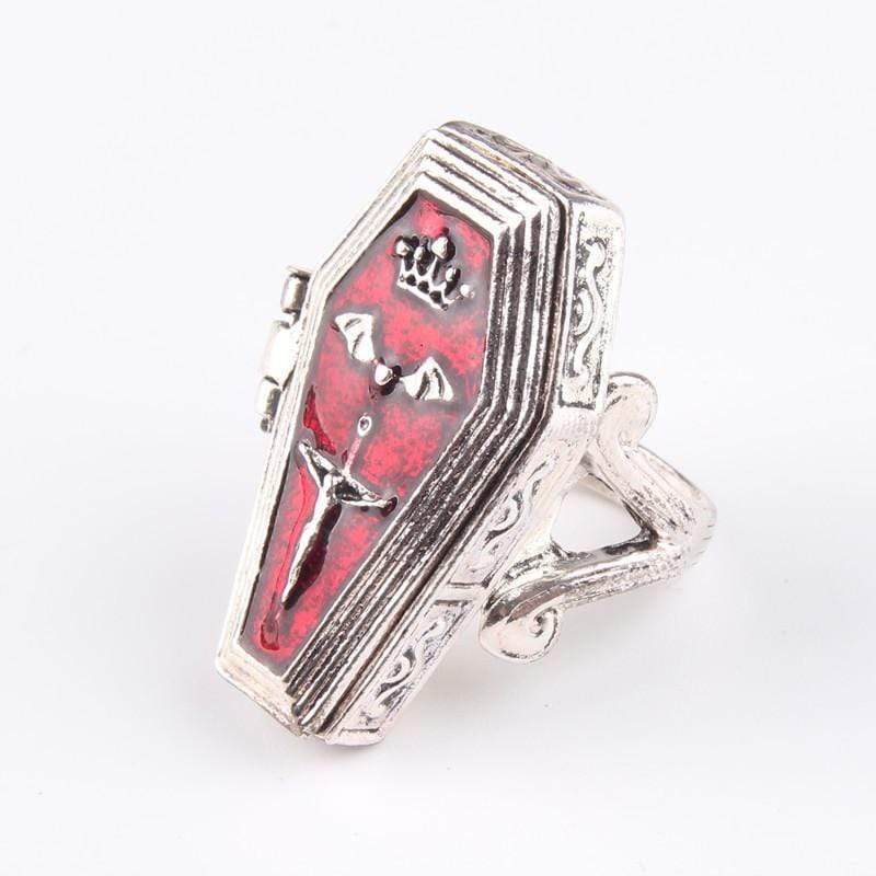 Vampire Coffin Ring