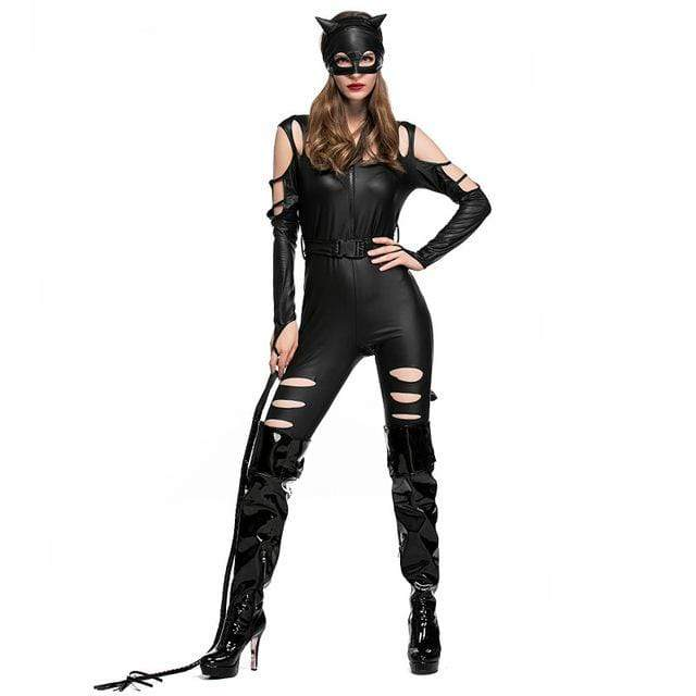 Cat Woman Bodysuit Costume (Womens)