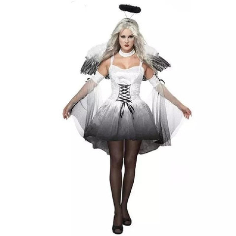 vampire ghost bride costume womens