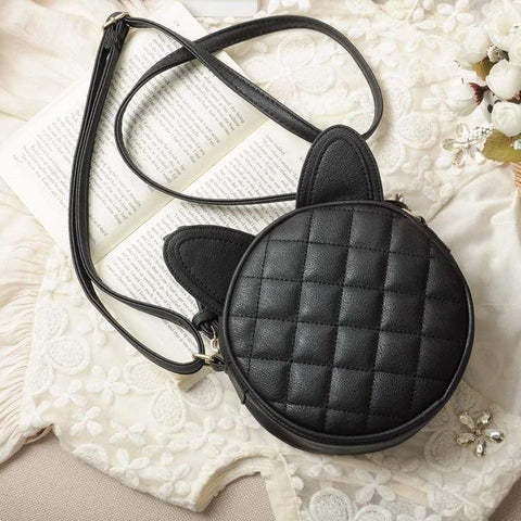 Cute Cat Leather Purse
