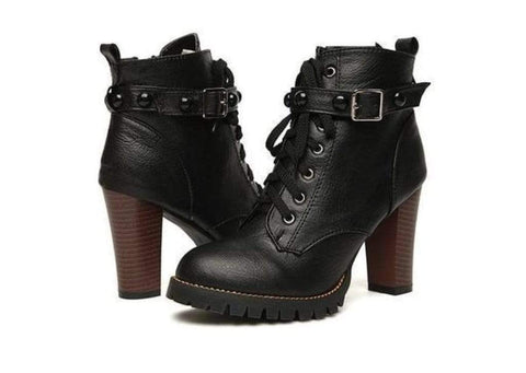 Punk'd Creep Gothic Boots