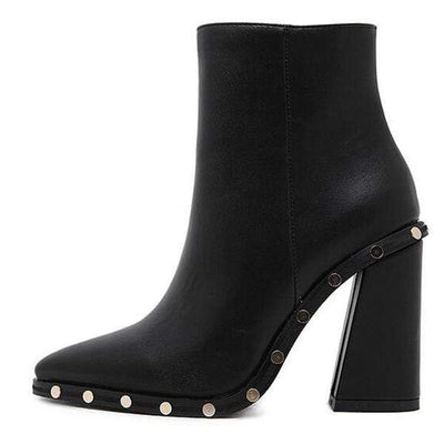 Darkwave Duchess Heeled Gothic Boots