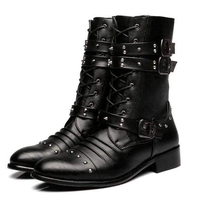 GET TO STEPPIN' GOTHIC BOOTS