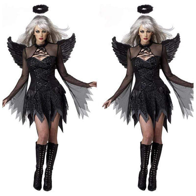 Succubus Dark Angel Wings witch cosplay
