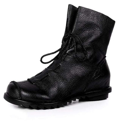 BLACKOUT GOTHIC BOOTS