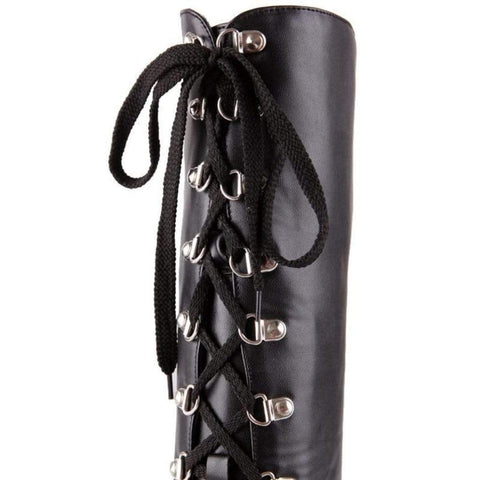 Stack Pack Platform Gothic Boots