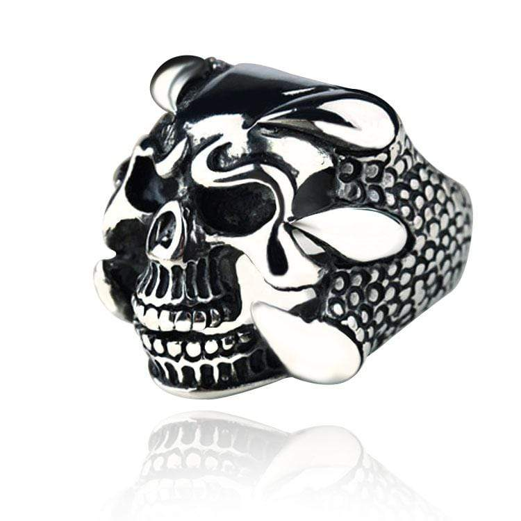 Grotesque Skeleton Gothic Ring