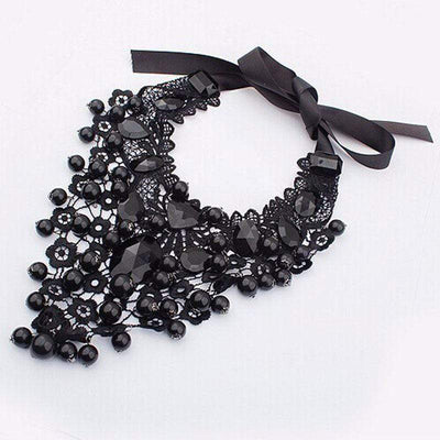 Black Rocks Gothic Necklace