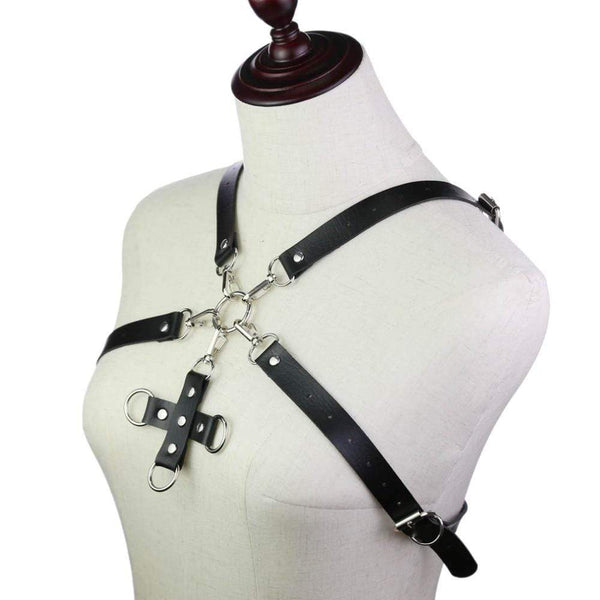 Cross of Revelation Leather Harness