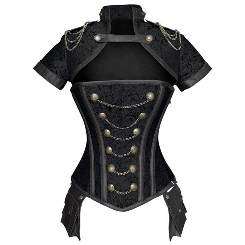 Retro Addiction Steel Bones Overbust Corset