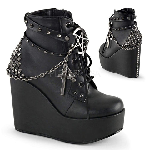 Gothic Star Chain Boots