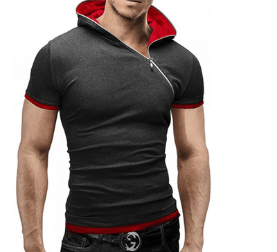 Oblique Zipper Shirt