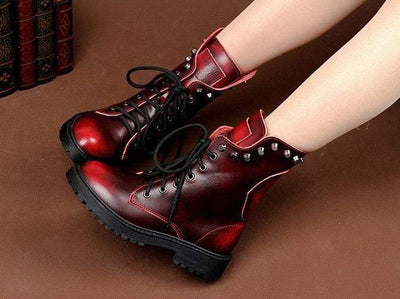 Raven Gothic Boots