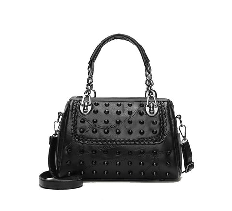Rivet Shoulder Gothic Bag