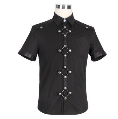 Devil Steampunk Black Shirt