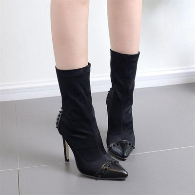 Ride the Lightning Ankle Boots