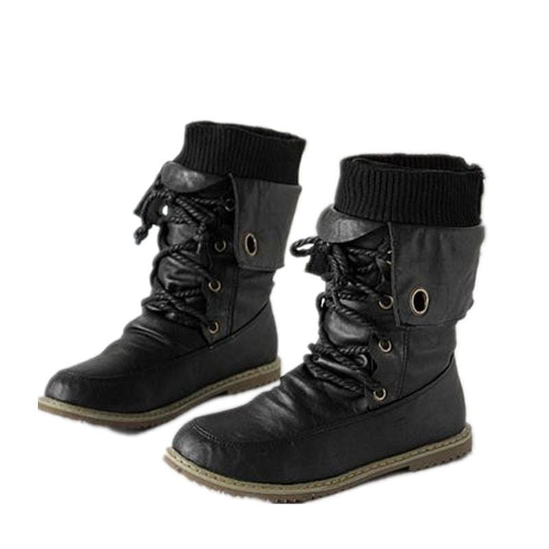 Unlocked Love Combat Gothic Boots