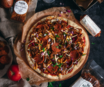 Meat Lovers Pizza with Bacon, Smokin' Burgers and Pepperoni