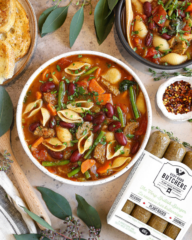 Healthy One-Pot Minestrone Soup