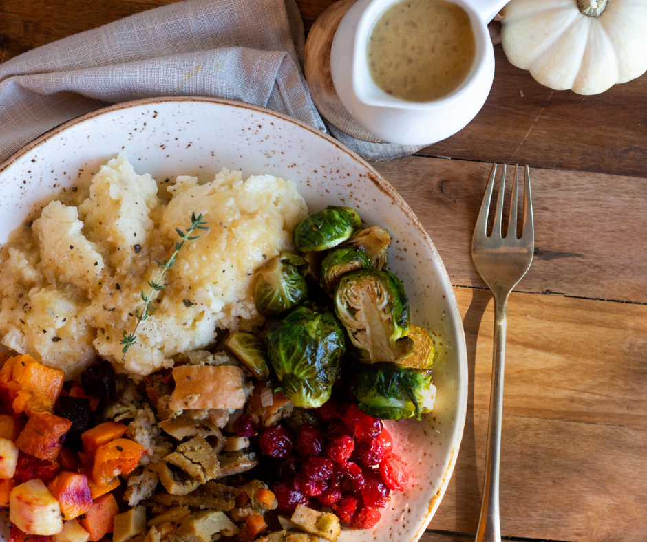 Holiday Plant Based Leftovers Harvest Bowl Blog Post l Vegan Holiday Reicpes 2020