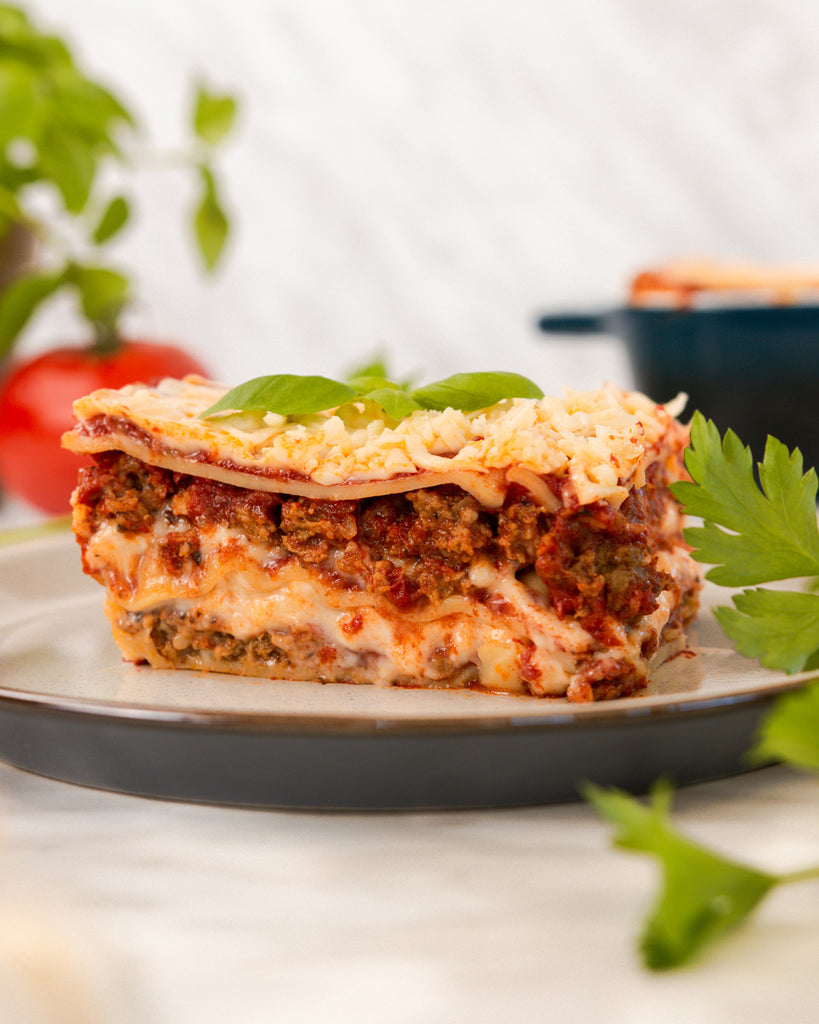 Plant-Based Lasagna with The Very Good Burger | Vegan Recipes
