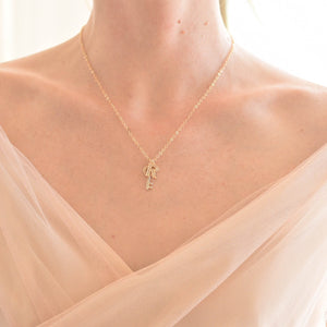 'R' MRS Necklace
