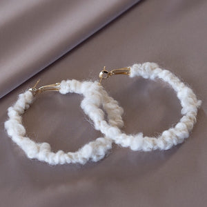 Sweater Hoops | M