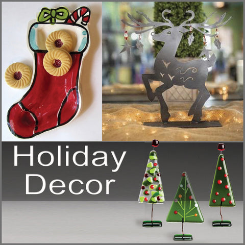 holiday decor button