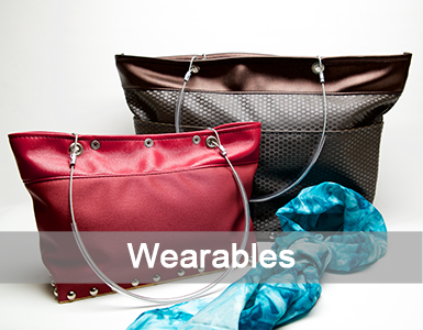 purses, bags, artistic wearables