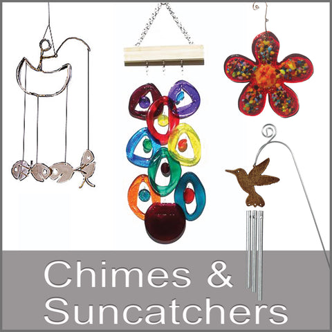 chimes and suncatchers button