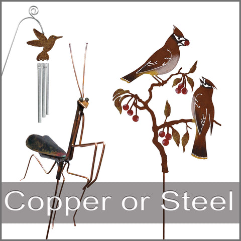 copper or steel pokes